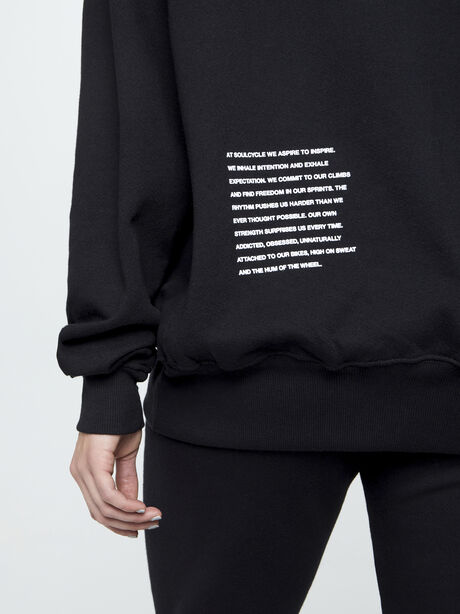 Mantra Derek Sweatshirt, Black, large image number 2