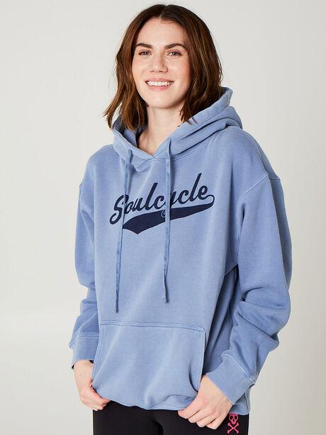Novelty Wash Sweatshirt, Blue, large image number 0