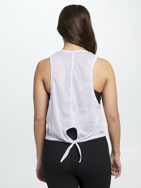 Exclusive Mesh Tank Lilac, Vintage Lilac, large image number 2