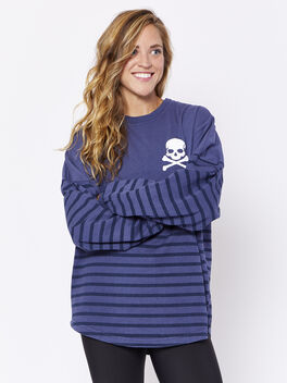 Navy Stripe London Spirit Jersey, Navy, large