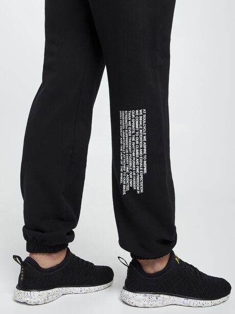 Mantra Super Slouch Sweatpants, Black, large image number 2