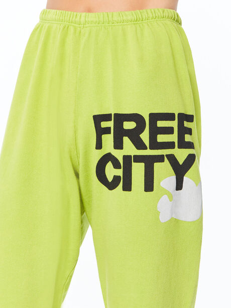 Large Sweatpant Hoppers Green, Green, large image number 1