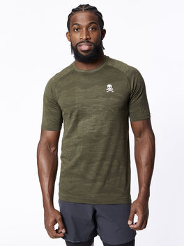 Metal Vent Tech Short Sleeve 2.0, Dark Olive/Armory, large