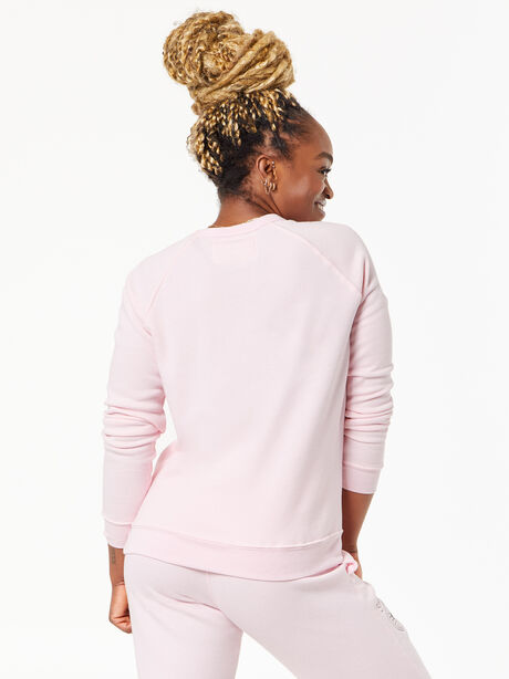 Classic Crew Pullover Pink, Pink, large image number 2