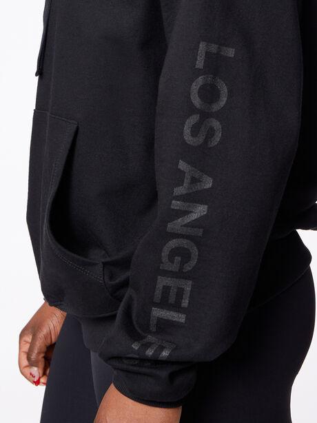 LA Kingsley Hoodie Black, Black, large image number 1