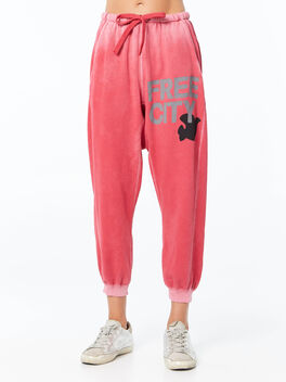 Large Sunfades Pocket Sweatpant Redrumm, Hot Pink, large