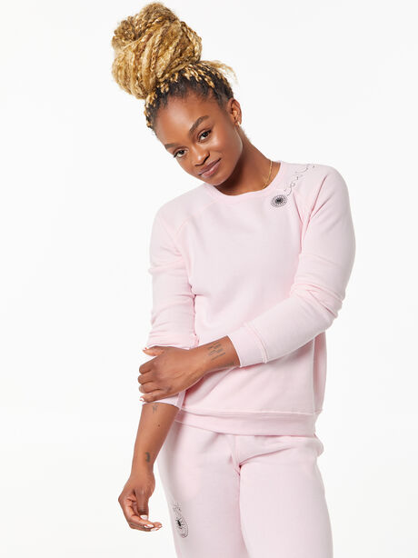 Classic Crew Pullover Pink, Pink, large image number 0