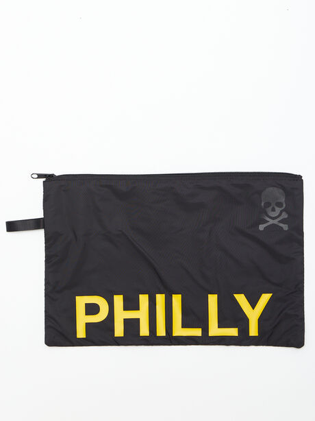 Philly Reusable Sweat Bag, Black, large image number 0