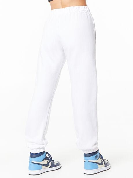 Billie Sweatpant White, White, large image number 3