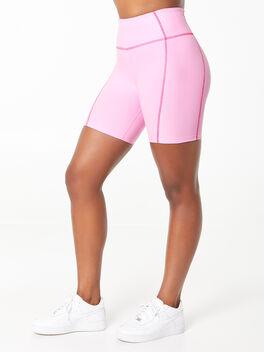YOS x Lindsey Bike Short Pink, Pink, large