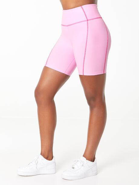 YOS x Lindsey Bike Short Pink, Pink, large image number 0