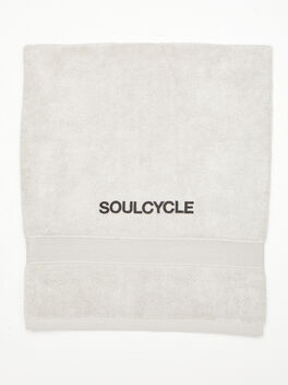 SoulCycle Sweat Towel Grey, Grey, large