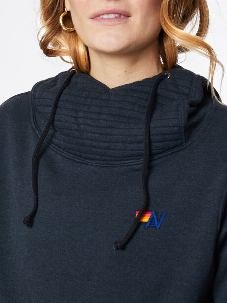 Ninja Pullover Hoodie Charcoal, Charcoal, large image number 1