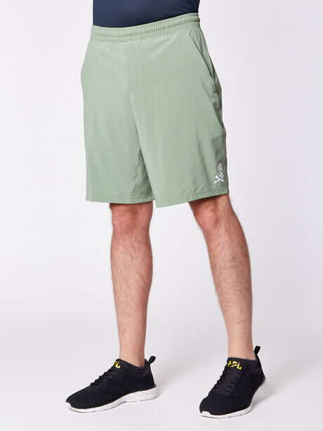 """Pace Breaker Short 9"""" Lined, Willow Green, large image number 0"""