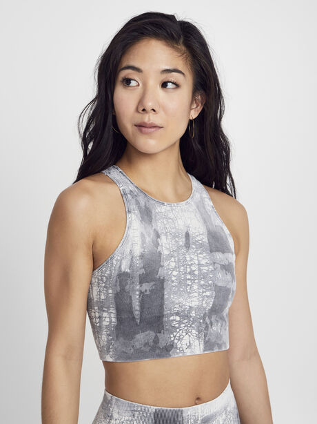 Crackle Gaia Bra, Granite, large image number 1