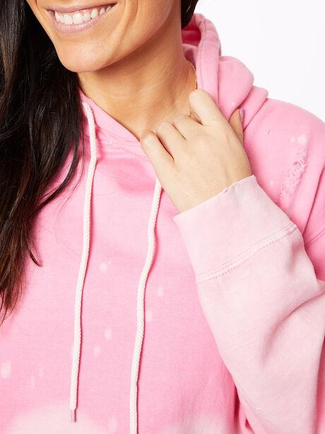 Acid Wash BHH Hoodie Pink, Pink, large image number 2