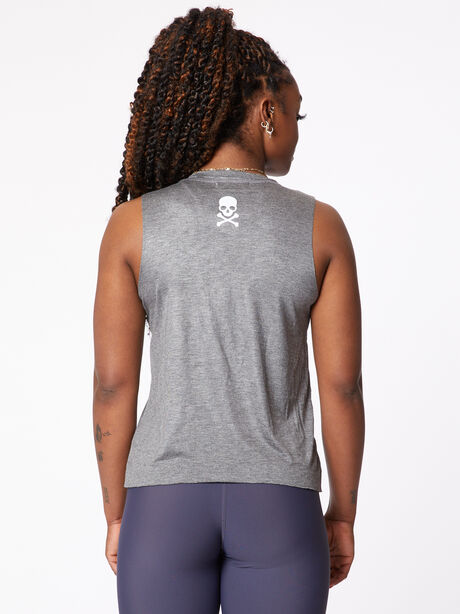 Minimal Muscle Tank, Grey, large image number 1