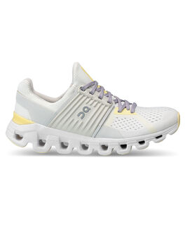 Cloudswift 2.0 Womens White/Yellow, White/Neon Yellow, large