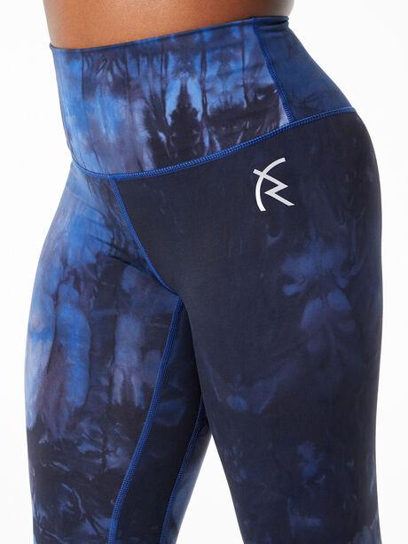 Marble Legging Blue, True Royal Blue Marble, large image number 1