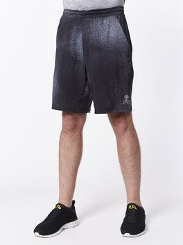 "Pace Breaker Shorts 9"" Lined, Ocean Spray Ice Grey Black, large"
