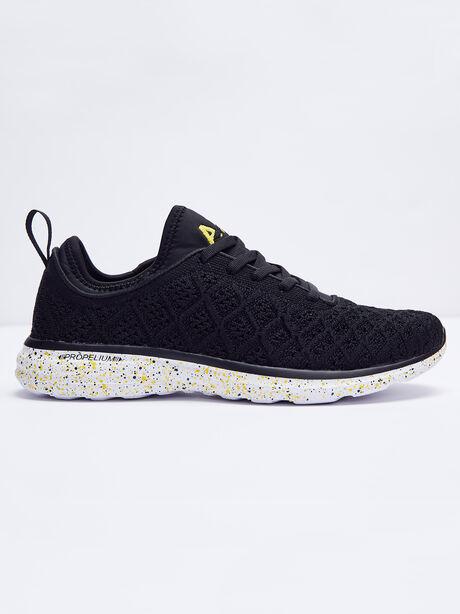 Women's TechLoom Phantom Black Sneaker, Black, large image number 0