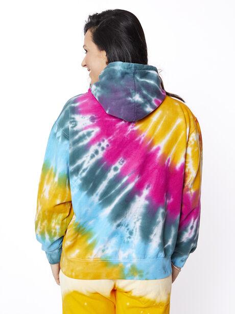 Strawberry Fields Hoodie, Tie Dye, large image number 4