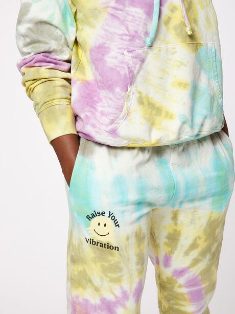 Boyfriend Hoodie Rainbow Tie-Dye, Tie Dye, large image number 2