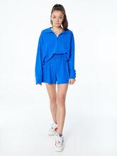 Summer Rugby Shirt Blue, Blue, large