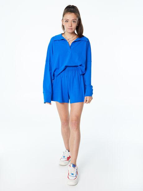 Summer Rugby Shirt Blue, Blue, large image number 0