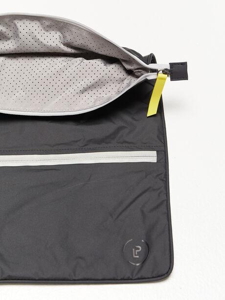 Double Pocket Sweatbag, Black, large image number 3