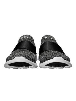 TechLoom Bliss Sneakers, Black/White, large
