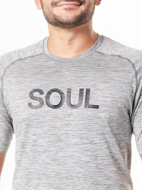 Metal Vent Tech Shirt Slate/White, Slate/White, large image number 1