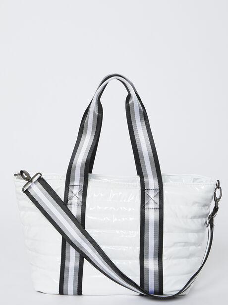 Junior Wingman Bag-White Patent, , large image number 3