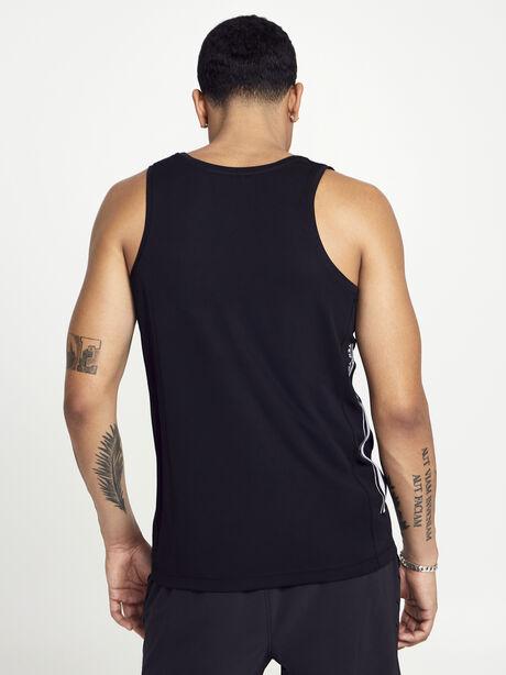 Black Tank Top, Black, large image number 2