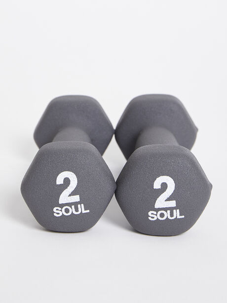 2 lb Weight Set, Grey, large image number 2