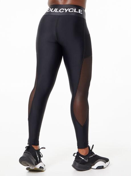 Ultra-Flex High Performance Mesh Leggings Black, Black, large image number 3