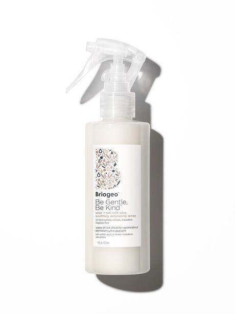 Be Gentle, Be Kind Aloe + Oat Milk Ultra Soothing Fragrance-Free Hypoallergenic Detangler, Clear, large image number 0