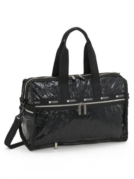 Exclusive Deluxe Medium Weekender Bag, Black, large image number 0