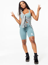 """Align™ Short With Pockets 8"""" Tidewater Teal, , large"""
