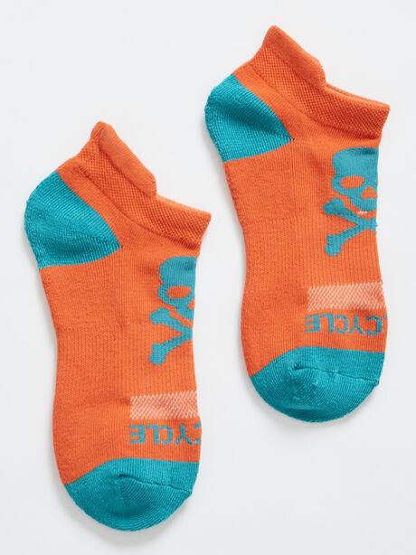 Ankle Sock, Orange, large image number 0