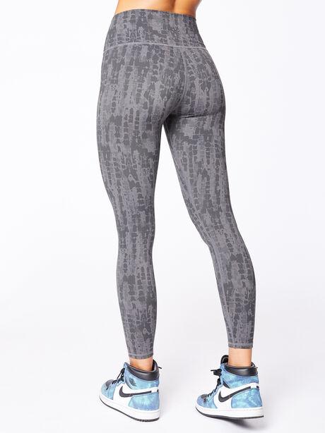 """Luna Legging 25"""" Textured Scales, Grey/Black, large image number 2"""