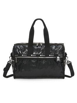 Exclusive Deluxe Medium Weekender Bag, Black, large