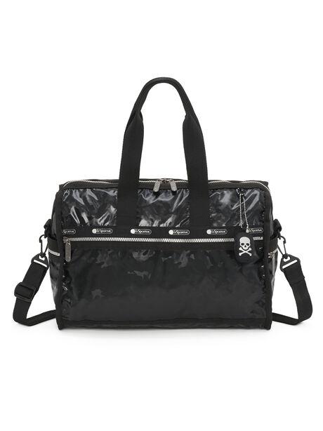 Exclusive Deluxe Medium Weekender Bag, Black, large image number 1