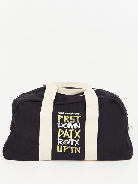Texas Duffle Bag Black, Black, large image number 0