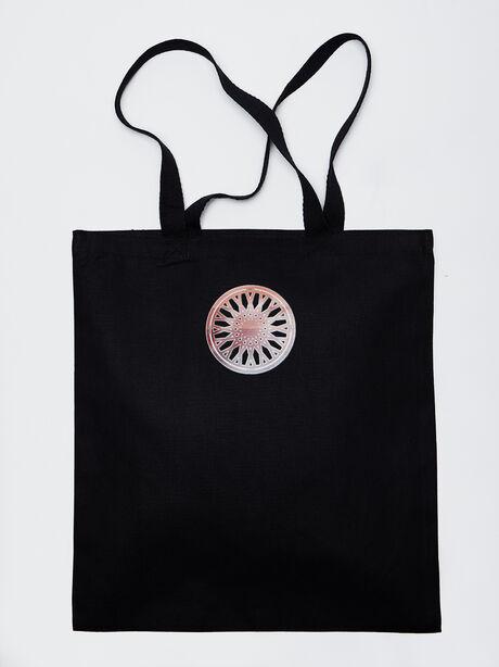 JARREAU Tote Bag, Black, large image number 2
