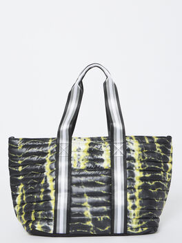 Exclusive Wingman Tie-Dye Tote, Tie Dye/Black, large