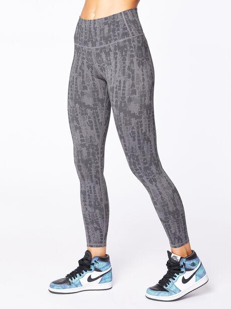 """Luna Legging 25"""" Textured Scales, Grey/Black, large image number 1"""