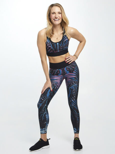 Ultra High-Rise Californian Terrain Legging Blue/Purple, Blue/Purple/Teal, large image number 3