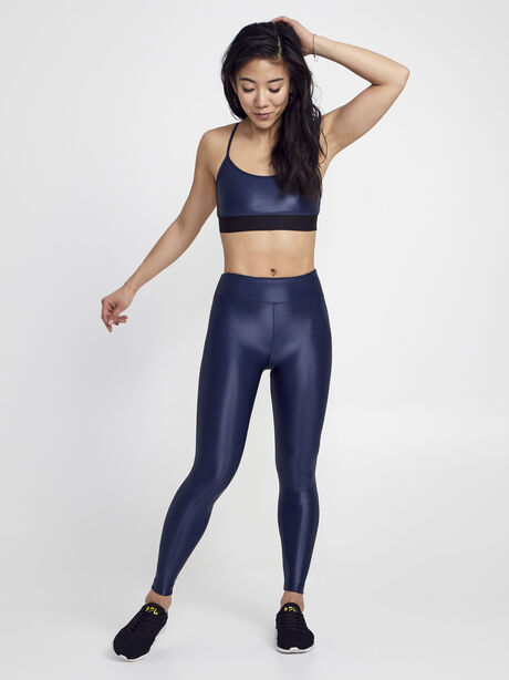 Sweeper Sports Bra, Navy, large image number 2