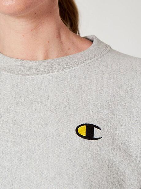 Unisex Crewneck Sweatshirt, Heather Grey, large image number 3